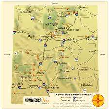 map of us vacation spots ghost towns of new mexico trail u0026 map new mexico true