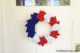 4th of july wreaths 4th of july wreath find it make it it