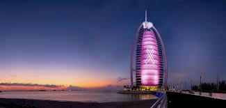 Burj Al Arab by Burj Al Arab Blushes Pink For Breast Cancer Awareness Month
