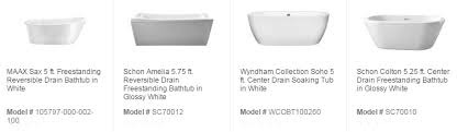 How To Install A Bathtub Drain How To Tell The Difference Between A Left And Right Hand Tub Drain