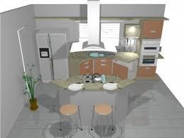 ilot cuisine rond ilot rond cuisine amazing style design pour une cuisine