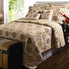Cotton Bedding Sets Andorra Medallion Cotton Quilt Set Bedding