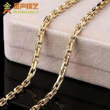 white necklace men images Usd 1298 57 18k white gold simple necklace men au750 color gold jpg
