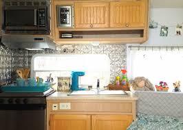 rv kitchen remodel travel trailer camper turned glamper renovation