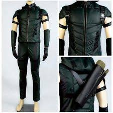 Green Arrow Halloween Costume Unisex Halloween Costumes Ebay