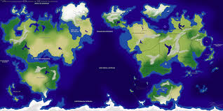 Map Of Pokemon World by A C X World Map By Phoenixacx On Deviantart
