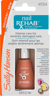 sally hansen nail rehab nail strength treatment 0 33 fl oz