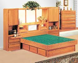 Water Bed Frames Oak Waterbeds Bedroom Furniture Coronado