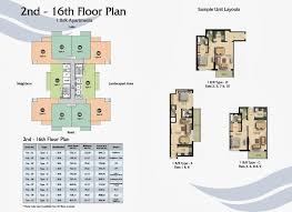 Buy Floor Plan by Fairview Residence Business Bay Dubai Floor Plan Apartments