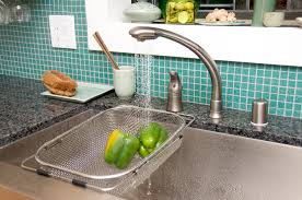 Delta Hands Free Kitchen Faucet by Washing Dishes By Kody Bengtson