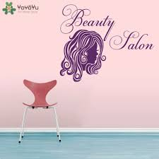 compare prices on beauty salon designs wall stickers online girls beauty salon wall decal woman head hair design vinyl wall stickers window decor removable barber