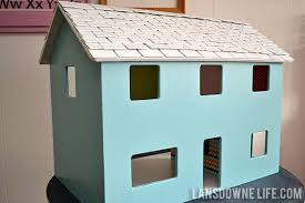 Dollhouse Modern Furniture by Modern Diy Dollhouse With Homemade Furniture Part 1 Of 6