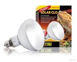 reptile fluorescent light fixtures exo terra solar glo sun simulating bulb