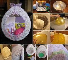diy easter basket wonderful diy easter string egg basket