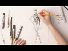 how to do fashion sketches step by step youtube fashion