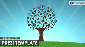 tree of ideas prezi template prezibase