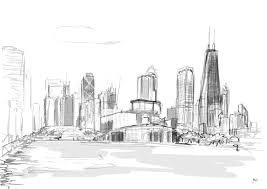 skyline coloring
