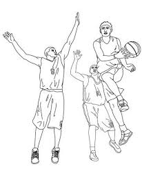 nba players coloring pages coloring pages of basketball players sport coloring pages of