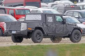jeep wrangler pickup 2017 spy photos reveal more about jeep wrangler pickup autoguide com news