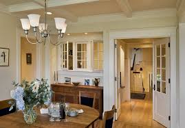 Traditional Interior Shutters Custom Window Trim Dining Room Victorian With Wall Art Traditional