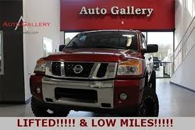 Titan Overhead Doors by Nissan Titan Lifted In Georgia For Sale Used Cars On Buysellsearch
