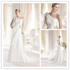 grecian style wedding dresses online shop gownlsw 006 designer one shoulder grecian style
