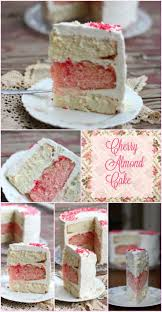 cherry almond cake recipe cakes chocolate frosting and or