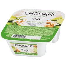 key lime green chobani greek yogurt flip key lime crumble low fat yogurt 5 3 oz