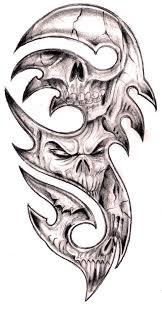tribal tattoos with roses designs tribal skulls by tashitam on deviantart tribal skull tattoo