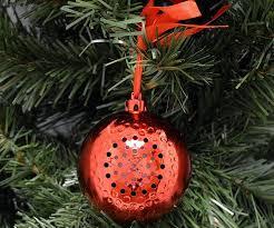 speaker christmas ornament