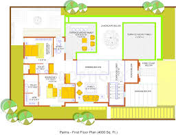 4000 sq ft 4 bhk floor plan image confident gold coast available