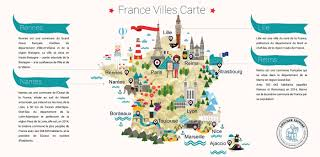 Nantes France Map by French Language Course On Behance