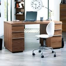 Walnut Office Desk Office Desk Walnut Office Desk Black Gloss And With Side Cabinet