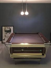 Academy Pool Table by Vintage Brunswick Centennial 9 Foot Pocket Billiards Pool Table