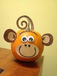 my monkey pumpkin via hobby lobby halloween pinterest
