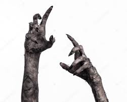 halloween black and white background black hand of death the walking dead zombie theme halloween