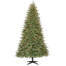 donner u0026 blitzen incorporated 7 5 u0027 pre lit geneva pine tree