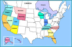 map usa y canada us and canada map with cities jasonchuame map of northern united