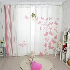 blackout curtains childrens bedroom aliexpress buy new korean pink butterfly blackout curtains childrens
