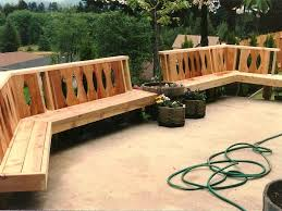 how to build deck bench seating deck bench seating deck benches and planters plans three