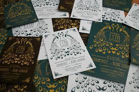 deco wedding invitations peacock deco wedding invitation by magik moments