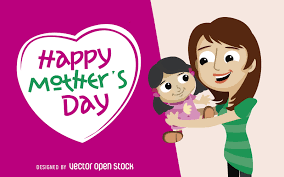 mother u0027s day greeting card vector download