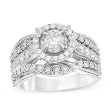 engagement rings diamond 1 carat rings wedding zales