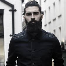 Rugged Hair 60 Manly Beards For Men Striking Hair Styles