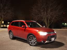 2015 mitsubishi rally car review 2015 mitsubishi outlander gt s awc canadian auto review