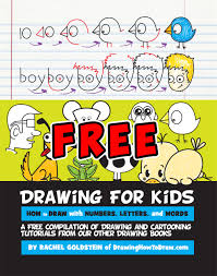 smashwords u2013 drawing for kids how to draw cartoons with letters