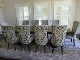 What Kind Of Fabric For Dining Room Chairs Uncategories French Dining Chairs Grey Leather Dining Room