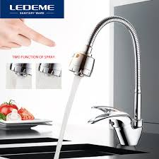 kitchen faucet outlet ledeme kitchen faucet universal 3 kinds of water way outlet