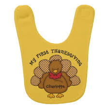 thanksgiving baby bibs zazzle
