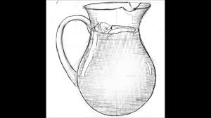 how to draw a jug youtube